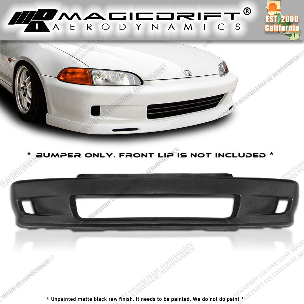 Crows Used Cars Crowsusedcars: For 92-95 HONDA CIVIC EG COUPE WC WHITECROW STYLE FRONT