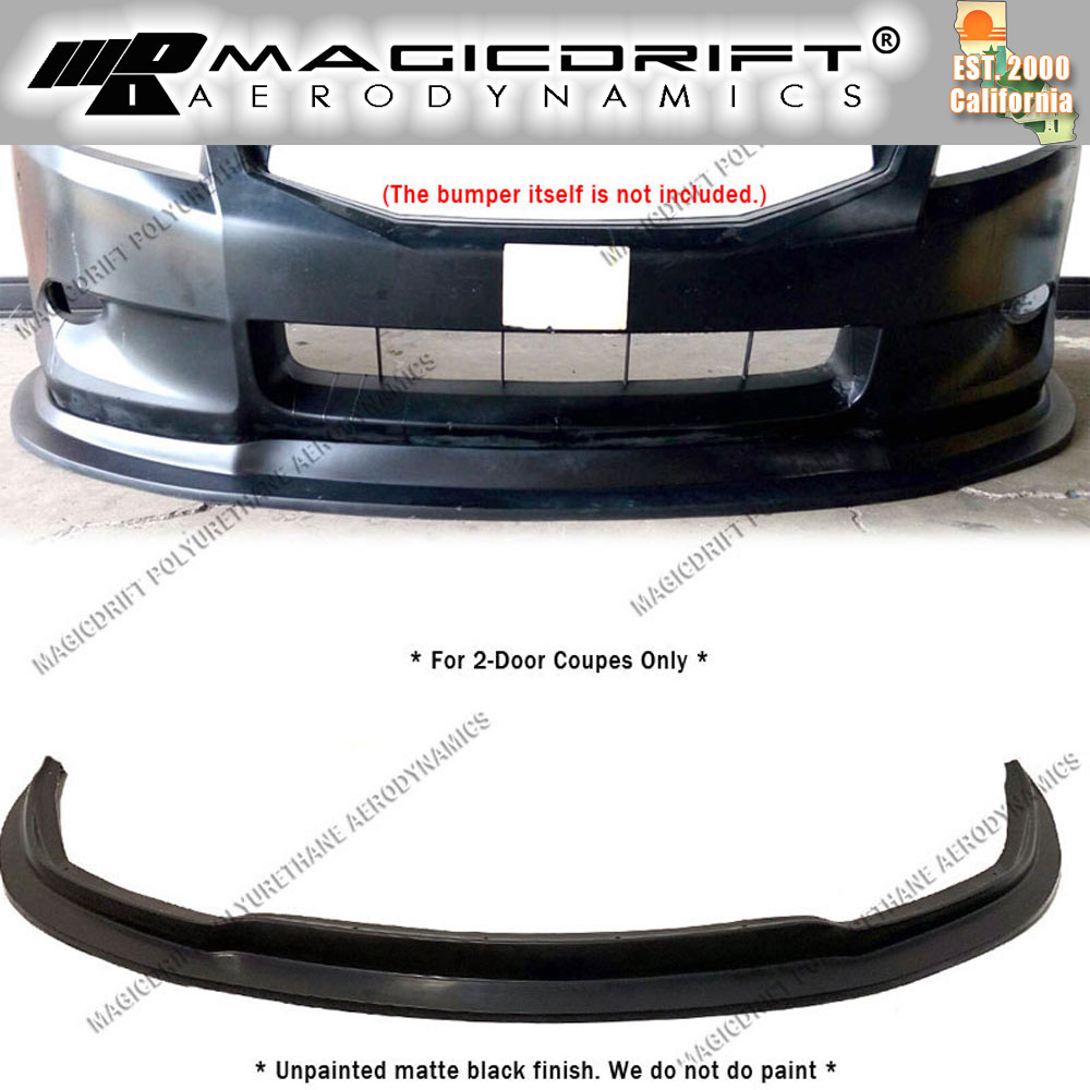 For 10-13 Nissan Altima 2Dr Coupe MDA style Front Bumper Lip Spoiler Kit JDM