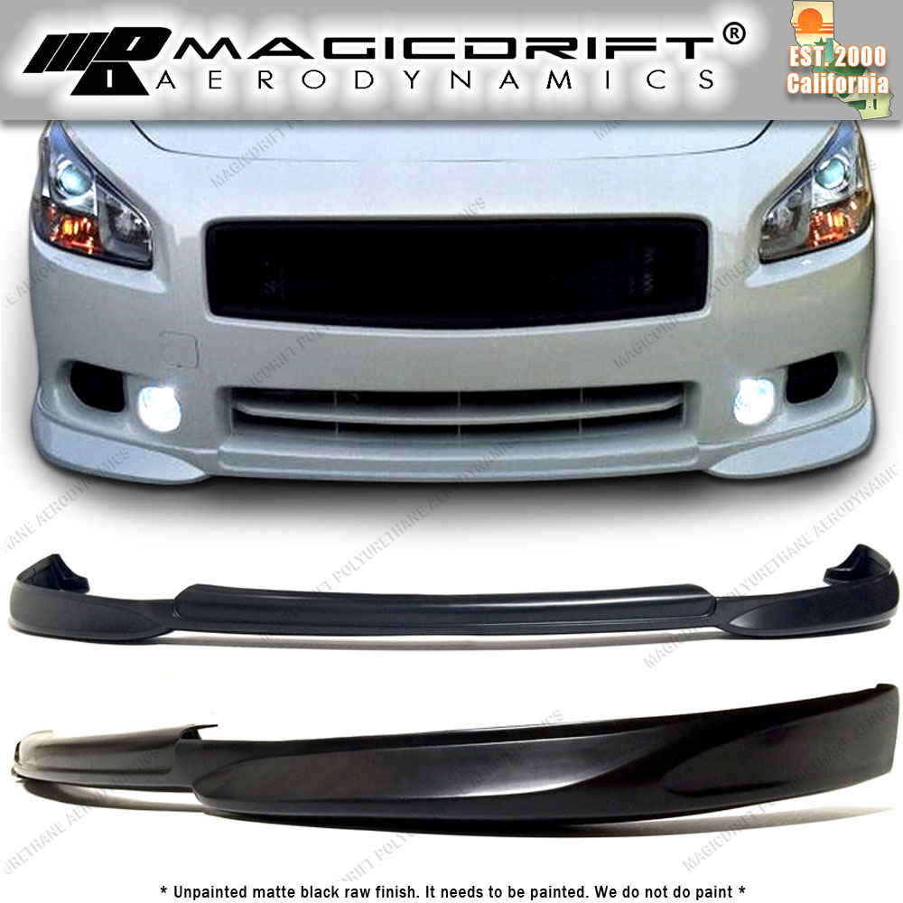 2009 Nissan Maxima Exterior: Fits All 2009-2014 Nissan Maxima St Street Style Front