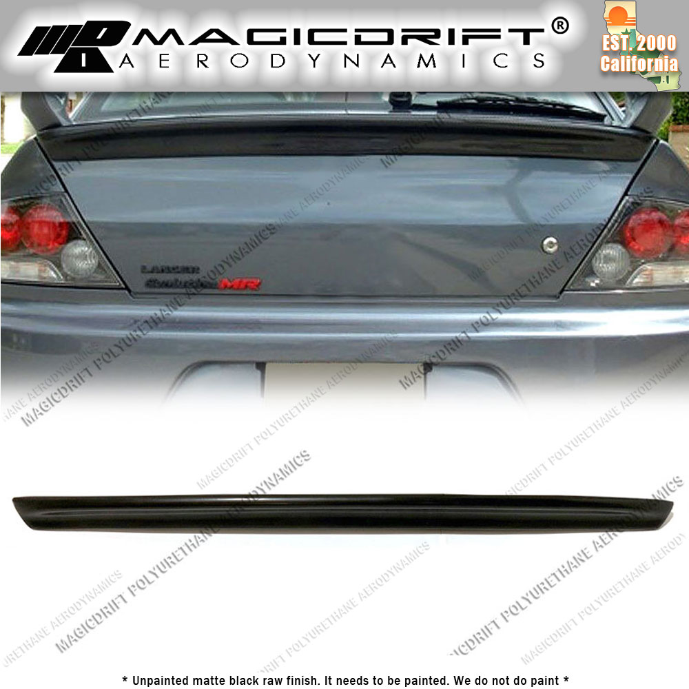 Unpainted Rear Trunk Boot Spoiler for MITSUBISHI Evolution EVO 8 /& 9 OEM Wing