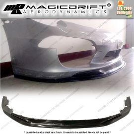 12-16 Porsche 911 991.1 MDA S1 Style Front Bumper Chin Spoiler Lip (Will not fit the GTS, GT3, Turbo bumpers)