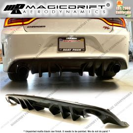 15-19  Dodge Charger MDP V2 Style Rear Bumper Diffuser Lip
