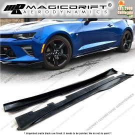 16-18 Chevy Camaro V6/V8 ZL1 Style Side Skirt Rocker Panel Extension Lips
