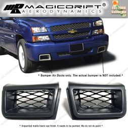 03-07 Chevy Silverado SS Style Front Bumper Air Ducts Vent