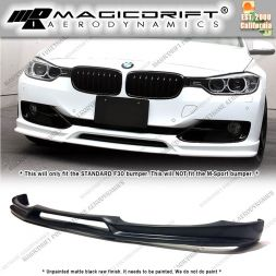 12-15 BMW F30 Base 3-Series 3D Style Front Bumper Chin Spoiler Lip