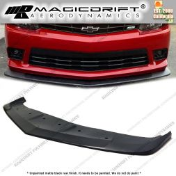 14-15 Chevy Camaro V8 SS AS Style Front Bumper Chin Spoiler Lip