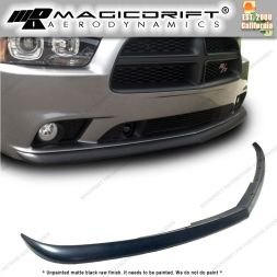 11-14 Dodge Charger OE Style Front Bumper Chin Spoiler Lip