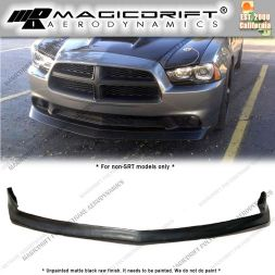 11-14 Dodge Charger RK Style Front Bumper Chin Spoiler Lip