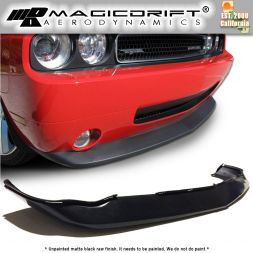 08-10 Dodge Challenger MDP Style Front Bumper Chin Spoiler Lip