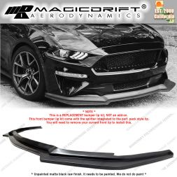 18-21 Ford Mustang GT Perf. Pack Style Front Bumper Chin Spoiler Lip