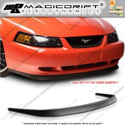 99-04 Ford Mustang MACH1 Style Front Bumper Chin Spoiler Lip