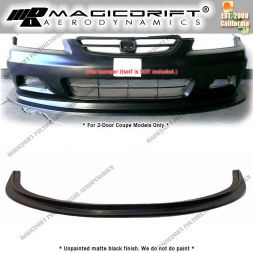 01-02 Honda Accord Coupes MDA Style Front Bumper Chin Spoiler Lip