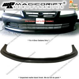 01-02 Honda Accord Sedan MDA Style Front Bumper Chin Spoiler Lip