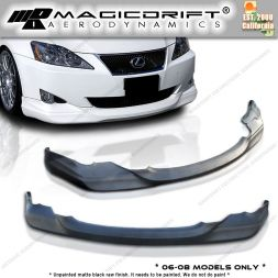 06-08 LEXUS IS250/IS350 IN Style Front Bumper Chin Spoiler Lip