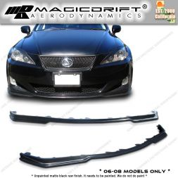 06-08 LEXUS IS250/IS350 PM Style Front Bumper Chin Spoiler Lip