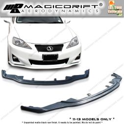 11-13 LEXUS IS250/IS350 PM Style Front Bumper Chin Spoiler Lip