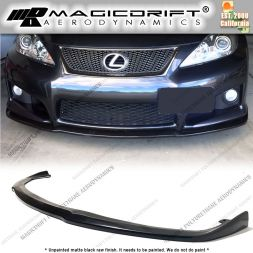 08-14 Lexus Is-F Sedan AS Style Front Bumper Chin Spoiler Lip
