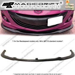 10-13 Mazdaspeed Speed 3 MS Style Front Bumper Chin Spoiler Lip