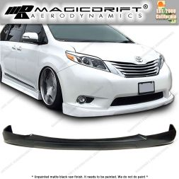 11-17 Toyota Sienna LE  CK Style Front Bumper Chin Spoiler Lip