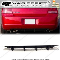 05-10 Dodge Charger MDP Style Rear Bumper Diffuser Lip