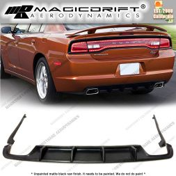 11-14  Dodge Charger MDP Style Rear Bumper Diffuser Lip
