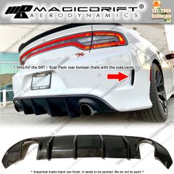 15-19  Dodge Charger MDP Style Rear Bumper Diffuser Lip