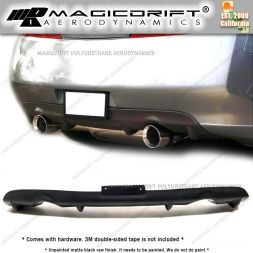 03-06 Infiniti G35 2DR Coupe DF Style Rear Bumper Lip