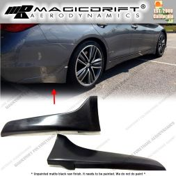 14-17 Infiniti Q50 OEM Sports Style Rear Bumper Splash Guards