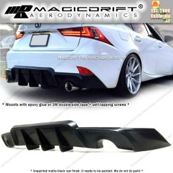 14-16 Lexus IS250/IS350 WK Style Rear Bumper Lip