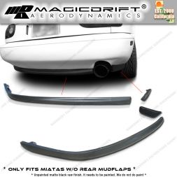 90-97 Mazda Miata RS Style Rear Bumper Lower Lip