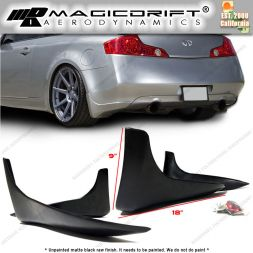 03-06 Infiniti G35 2DR Coupe SG Style Rear Bumper Lip Splash Guards