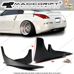 03-05 Nissan 350Z SG Style Rear Bumper Lip Splash Guards