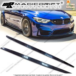 15-19 BMW F80 M3 - MT Style Side Skirt Extension Lip Kit (Pair)