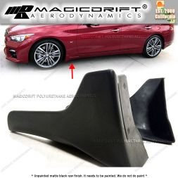 14-17 Infiniti Q50 OEM Style Front Sides Splash Mud Guards