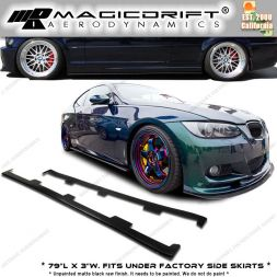01-06 BMW E46 M3 UL Style Side Skirts Diffusers Lips Extensions Splitters