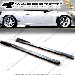 13-17 Subaru BRZ RB Style Side Skirt Rocker Panel Extension Lips (Pair)
