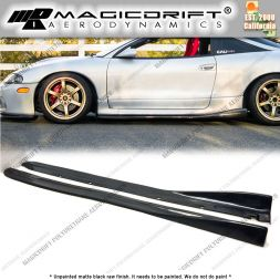 97-99 Mitsubishi Eclipse CS Style Side Skirt Extension Winglet Lips